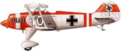 Profil couleur du Heinkel He 51