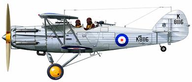 Profil couleur du Hawker  Hector