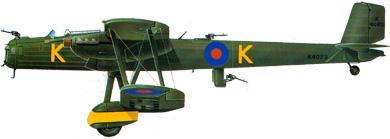 Profil couleur du Handley Page HP.50 Heyford