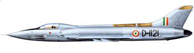 Profil couleur du HAL HF-24 Marut