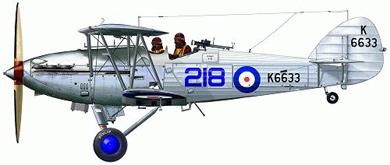 Profil couleur du Hawker Hind