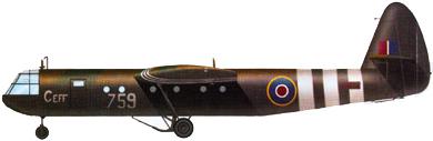 Profil couleur du Airspeed A.S. 51 Horsa