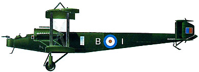 Profil couleur du Handley Page Type O/100-O/400