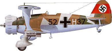 Profil couleur du Henschel Hs 123