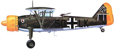 Profil couleur du Henschel Hs 126