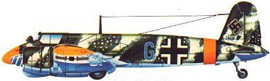 Profil couleur du Henschel Hs 129