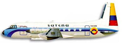 Profil couleur du Hawker-Siddeley HS-748 & HS-780 Andover