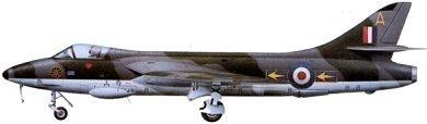 Profil couleur du Hawker  Hunter