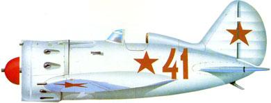 Profil couleur du Polikarpov I-16 Ishak