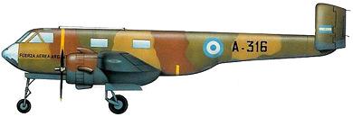 Profil couleur du DINFIA IA 35 Huanquero