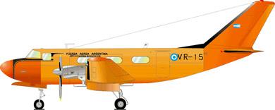 Profil couleur du DINFIA IA 50 Guarani
