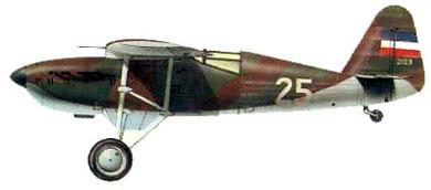 Profil couleur du Ikarus IK-2