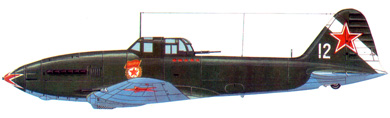 Profil couleur du Ilyushin Il-10 'Beast'