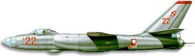 Profil couleur du Ilyushin Il-28  'Beagle'