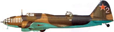 Profil couleur du Ilyushin DB-3/Il-4  'Bob'