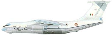 Profil couleur du Ilyushin Il-76  'Candid'