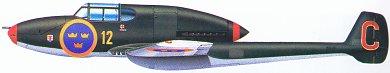 Profil couleur du Saab J21