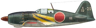 Profil couleur du Mitsubishi J2M Raiden 'Jack'