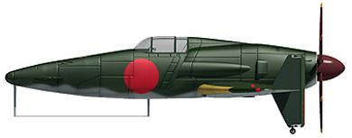 Profil couleur du Kyushu J7W Shinden