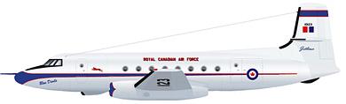Profil couleur du Avro Canada C-102 Jetliner