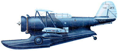 Profil couleur du Grumman JF/J2F Duck