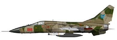 Profil couleur du Xian JH-7 'Flounder'