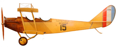 Profil couleur du Curtiss JN-4 Jenny