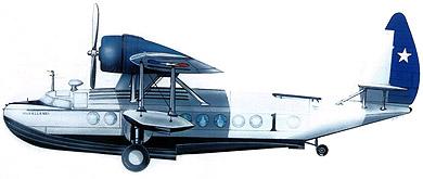 Profil couleur du Sikorsky JRS Baby Clipper