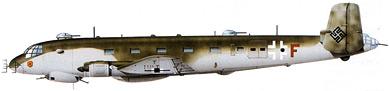Profil couleur du Junkers Ju 290
