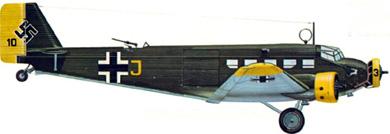 Profil couleur du Junkers Ju 52