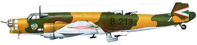 Profil couleur du Junkers Ju 86
