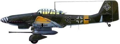 Profil couleur du Junkers Ju 87 Stuka