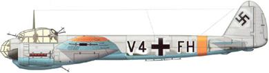 Profil couleur du Junkers Ju 88