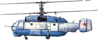 Profil couleur du Kamov Ka-27  'Helix'