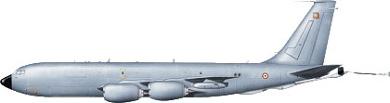 Profil couleur du Boeing KC-135 Stratotanker