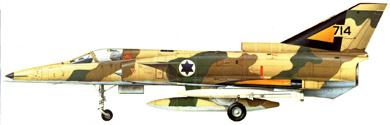 Profil couleur du I.A.I.  Kfir