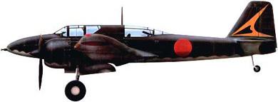 Profil couleur du Kawasaki Ki-102  'Randy'