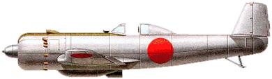 Profil couleur du Nakajima Ki.115 Tsurugi