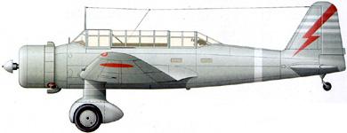 Profil couleur du Mitsubishi Ki-30  'Ann'