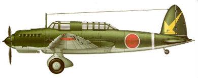Profil couleur du Kawasaki Ki-32 'Mary'