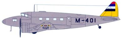 Profil couleur du Nakajima Ki-34 Thora