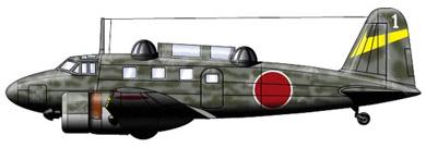Profil couleur du Tachikawa Ki-54  'Hickory'