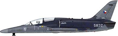 Profil couleur du Aero L-159 ALCA
