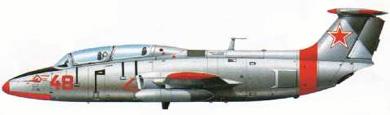 Profil couleur du Aero L-29 Delphin