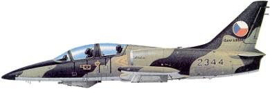 Profil couleur du Aero L-39 Albatros