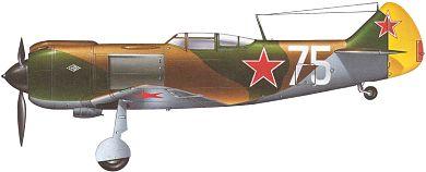 Profil couleur du Lavotchkin La-5
