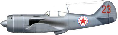 Profil couleur du Lavotchkin La-9 / La-11 Fang