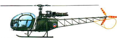 Profil couleur du Aérospatiale SA.315 Lama