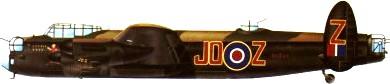 Profil couleur du Avro  Lancaster