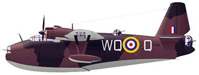 Profil couleur du Saunder-Roe S.36 Lerwick